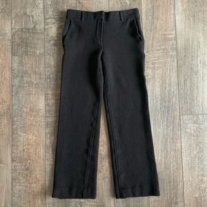 Helmut Lang Wide Leg Wool Trousers